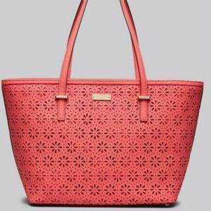 Cedar Street Perforated Small Harmony Tote